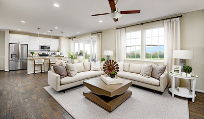 The Pearl plan is one of two new model homes at Richmond American's Hidden Springs community in Pleasant Grove, Utah.