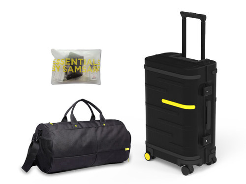 Samsara Luggage's products combines smart tech and smart materials to provide the ultimate protection for travelers.