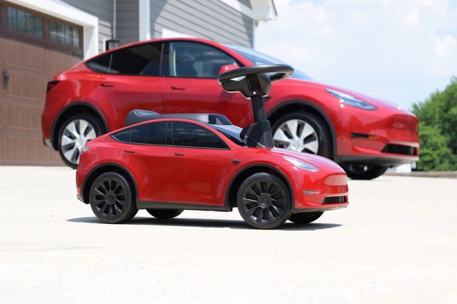 Radio Flyer Partners with Tesla to Launch My First Model Y Children's Ride-On