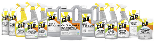CLR line of household cleaning products