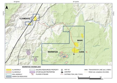 Figure 1: Property Map (CNW Group/Solaris Resources Inc.)