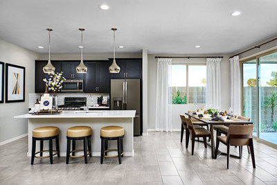 The Moonstone is one of two new models at Richmond American's Ladera at White Rock Springs Ranch community in Folsom, California.