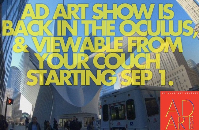 Ad Art Show returns to the New York Oculus