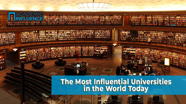 The universities with the greatest global impact | AcademicInfluence.com