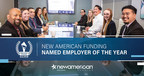 New American Funding Awarded Silver Stevie® for Employer of the Year
