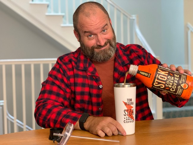 Tom Segura x STōK Pumpkin Cold Brew