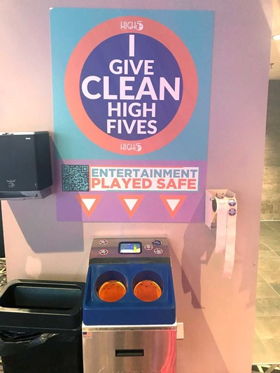 """Meritech's CleanTech® 500EZ is the spear-tip of High 5's """"Entertainment Played Safe"""" initiative."""