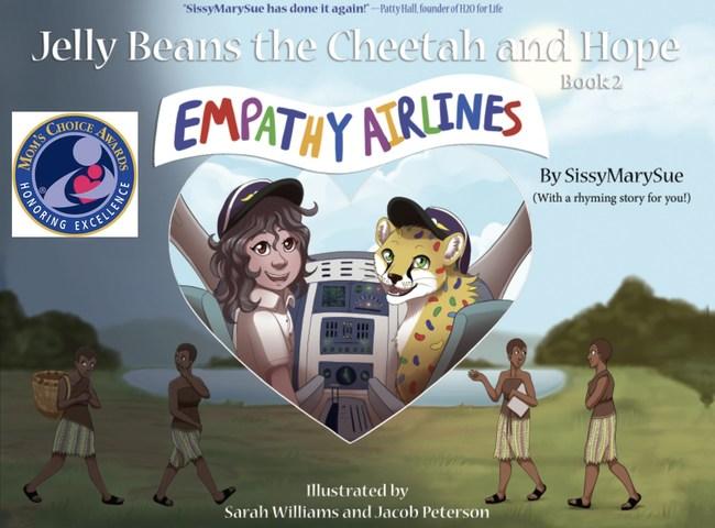 Children's book EMPATHY AIRLINES