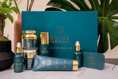Full Array of Hülsa Wellness Products
