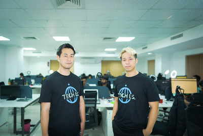 Meet the Founders of TECH I.S. CEO Futoshi Ito and COO Hayato Kato