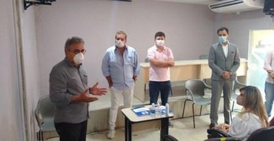 Romulo Maiorana Júnior junto a prefeitura, assinam contrato para revitalização do Mercado de São Brás