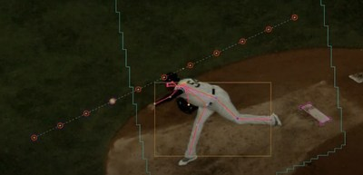 Hawk-Eye Pitch Tracking and Release Detection