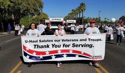 U-Haul has been named one of the top 100 veteran-friendly companies by The Military Times on its