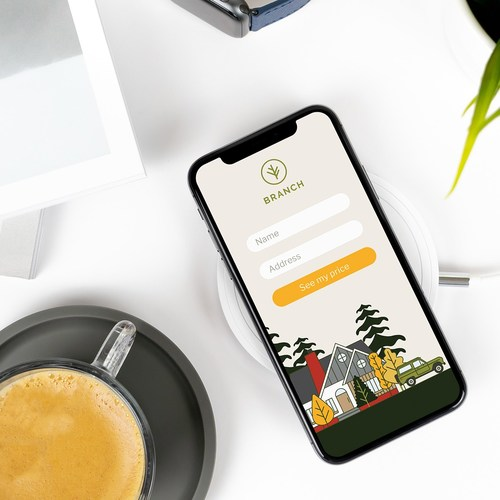 Where most traditional insurance companies require customers fill out insurance applications with hundreds of questions, Branch developed a way to bundle home and auto insurance with just 2, name and address.
