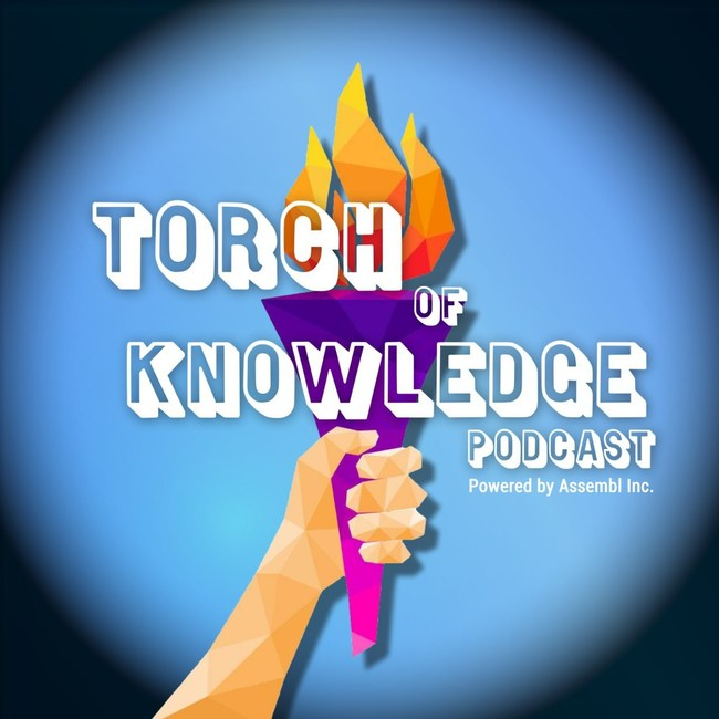 The Torch of Knowledge podcast cover.