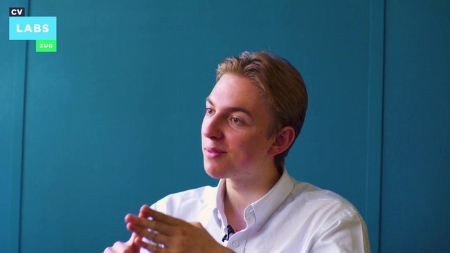Sebastian Mellen, host of the Torch of Knowledge Podcast, being interviewed by CV Labs in Zug, Switzerland, last July. https://www.youtube.com/watch?v=xzzH6uK5e4Q