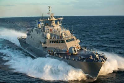 Littoral Combat Ship 21 (Minneapolis-Saint Paul), the 11th Freedom-variant LCS designed and built by the Lockheed Martin-led industry team completed Acceptance Trials in Lake Michigan