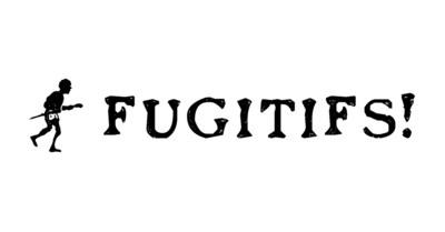Logo_fugitifs!_blanc (Groupe CNW/Commission des droits de la personne et des droits de la jeunesse)