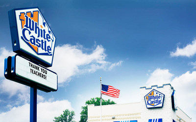 White Castle, a family-owned business for 99 years, has honored our nation's healthcare professionals, first responders, grocery store and food retail employees, and other frontline workers during the pandemic with special offers and discounts. Today, America's first fast-food hamburger chain continues the celebration of essential workers including our communities' teachers, principals, administrators and other school and daycare employees with offers in restaurants and frozen food aisles.