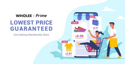 'Wholee Prime' is a radical new global members-only shopping app that offers users a zero-mark-up pricing model where users only pay for the production cost on millions of products as set by the manufacturer and not for subsequent distribution and marketing costs that consumers usually have to stump-up.