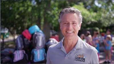 Attorney Mike Morse, owner of Mike Morse Law Firm, has donated over 160,000 backpacks filled with school supplies to Detroit students.