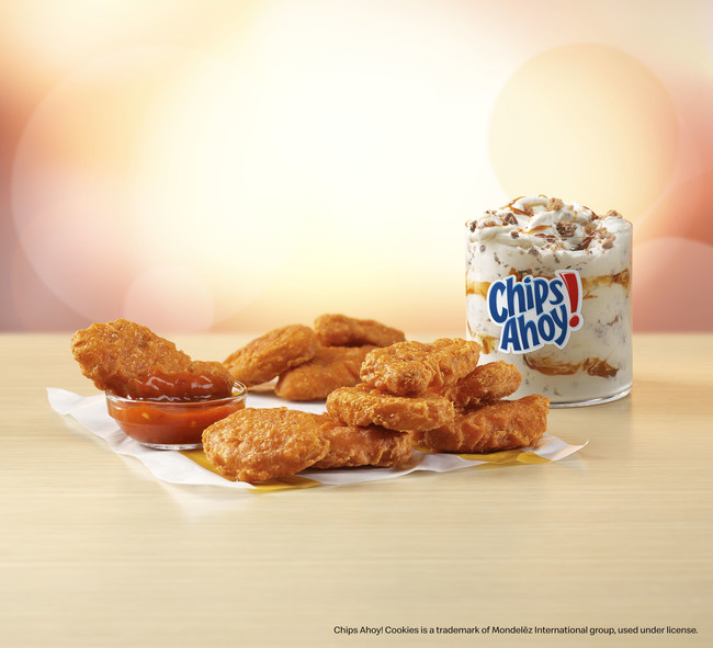 McDonald's Announces Spicy Chicken McNuggets and Chips Ahoy! McFlurry