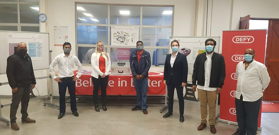 Mechanical ventilators produced by Defy, Arçelik's subsidiary in South Africa, has received The President's Special Award for Pandemic Service
