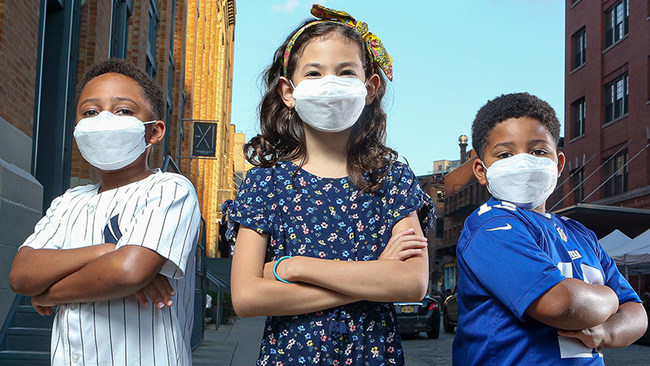 Safety first: Nano Air Mask introduces PURE-MSK Nanofiber masks for Kids Made in America.