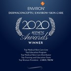 "Environ® Skin Care Receives ""Top Medical Skin Care"" in the Aesthetic Everything® Aesthetic and Cosmetic Medicine Awards 2020"