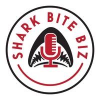 The Shark Bite Biz Podcast logo