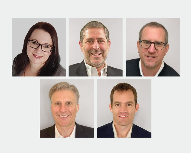 New Kasada executives include from top left to bottom right: Simone Archbold, Neil Cohen, Mike Romans, Andy Swett, David Turner