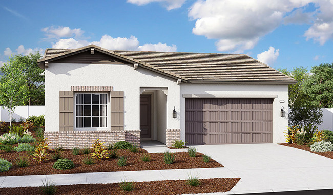 The Ackerman is one of three new single-story models at Richmond American's Beechtree at Harvest at Limoneira community in Santa Paula, California.