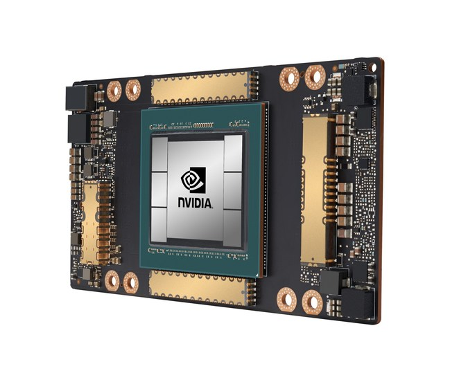 An Nvidia chip showcasing multi-die integration. Image courtesy of Nvidia.