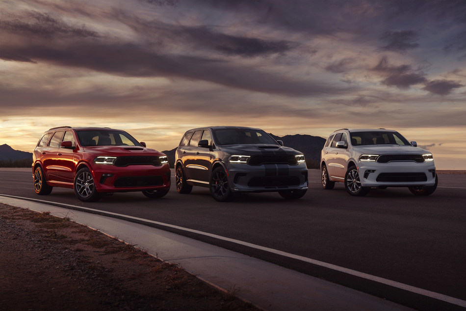 Dodge Announces Pricing For New 2021 Durango Lineup Including The 710 Horsepower Durango Srt Hellcat The Most Powerful Suv Ever