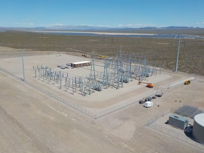 GridLiance's Sloan Canyon Switching Station outside of Boulder City, Nevada, was completed in December 2019. GridLiance, an independent electric transmission utility holding, was recently named to the Dallas Business Journal's Middle Market 50 list.