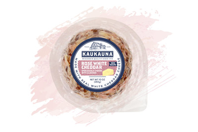 Give Fall A New Spin with Kaukauna's® New Cheese Ball Flavor - Rosé White Cheddar