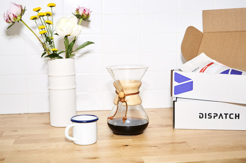 Dispatch Coffee launched its flexible & personalized subscription service in 2019 (CNW Group/Dispatch Coffee)