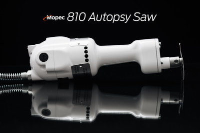 The Mopec 810 Autopsy Saw has long been considered the most powerful and durable saw available. Many practitioners prefer the slender handle, which gives them precise control. It has a powerful motor that produces 17,000 rpm and 32,000 oscillations per minute.