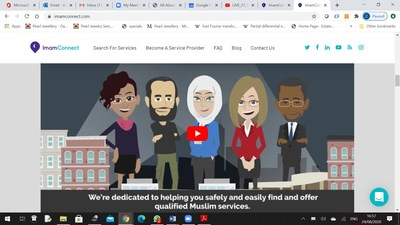 """ImamConnect – an """"Uber for Imams"""" – the world's first online Muslim services platform"""