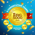 G FUEL Makes Inc. 5000 List Of Fastest-Growing Private Companies In America For Fifth Consecutive Year