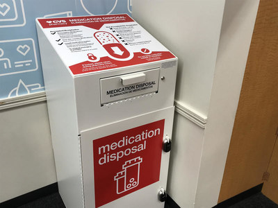 In 2020, CVS Health is adding an additional 1,000 in-store safe medication disposal units to the 2,500 units currently in CVS Pharmacy locations nationwide.