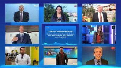 Realizado diálogo online entre mídias da China e América Latina