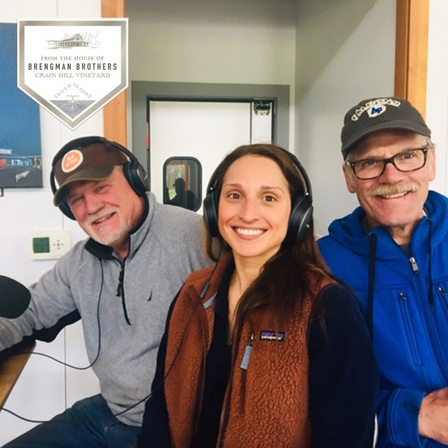 Lick the Plate is back on the air in Northern Michigan on WQON with it's unique mix of guests from the culinary, culture and music worlds like past guests from Brengman Brothers Winery.