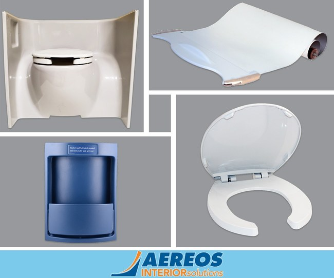 First Built-In Antimicrobial High-Touch Parts for Aircraft Interiors - 99% Effective in Protecting Against Harmful Microbes