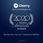 "Cherry Technologies, Inc. Receives ""Top 'Buy Now, Pay Later' Company for MedSpas"" in the Aesthetic Everything® 2020 Aesthetic and Cosmetic Medicine Awards"