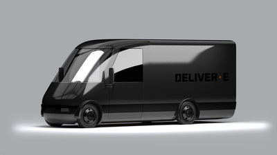 Bollinger Motors Unveils DELIVER-E™ Delivery Van. The front-wheel drive, all-electric DELIVER-E platform will be engineered to fit Classes 2B, 3, 4, and 5.