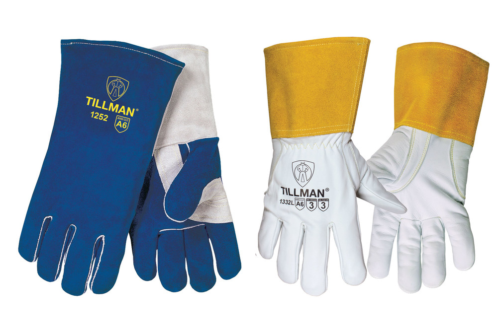 Introducing Tillman S Cut Resistant 1332 Premium Goatskin Tig Gloves And 1252 Premium Side Split Cowhide Stick Gloves