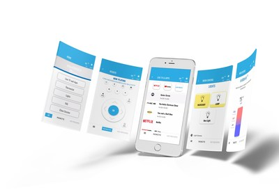 enseoCONNECT™ mobile remote allows hotel guests to control the in-room TV, lights, thermostat and more