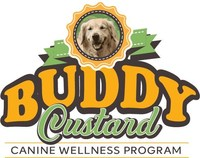 """Buddy Custard: a delicious """"pet-ra-ceutical,"""" a neutraceutical made especially for dogs as part of a canine health and wellness program"""