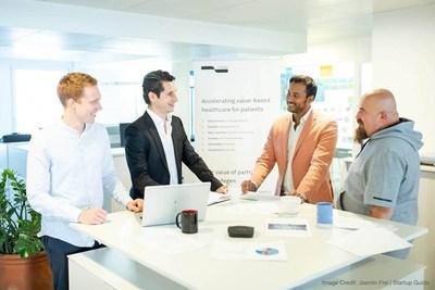 Lyfegen's founders Nico Mros, Michel Mohler, Girisha Fernando, and Leon Rebolledo